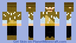 """Clint Eastwood from """"The Man With No Name"""" Minecraft Skin"""