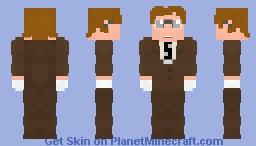 William Tockman - Clock King - DC Universe Minecraft Skin