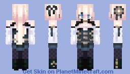 ⚙️❤️Clockwork Heart ❤️⚙️ Minecraft Skin