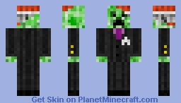 TNT CREEPER Minecraft Skin