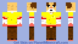 clothed guineapig Minecraft Skin