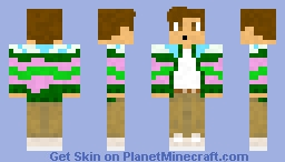 Landscape Cardigan (Golf Wang) Minecraft Skin
