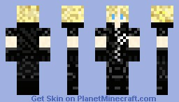 Cloud Strife [Final Fantasy VII] Minecraft Skin
