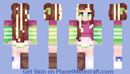 Clover Minecraft Skin