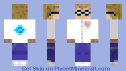 a scientist Minecraft Skin
