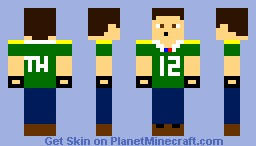 Green Bay Packers Jersey Minecraft Skin