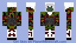 call of duty mw2  Artic Spetsnaz soldier 3 Minecraft Skin