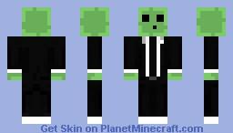 Smart Slime Man Minecraft Skin