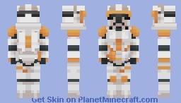 Star Wars - Marshal Commander Cody Minecraft Skin