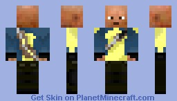 Cole McGrath Minecraft Skin