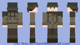 Foxhole: Colonial Soldier Minecraft Skin