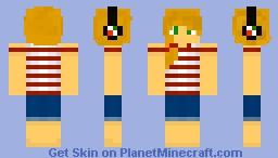 ~вєяяу~ Ponytail Girl Minecraft Skin