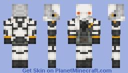 Half Life: Alyx Combine Suppressor Minecraft Skin