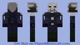 Metro Police [ Better in 3D ] Minecraft Skin