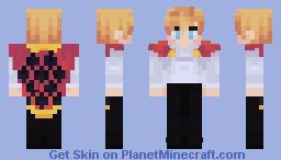 Howl Jenkins Minecraft Skin