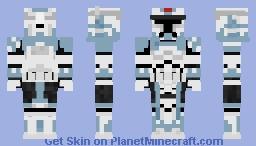 Commander Wolffe - Star Wars Minecraft Skin