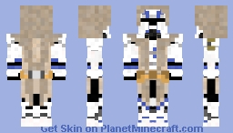 Commander Keller Minecraft Skin