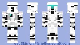 Clone commando Minecraft Skin
