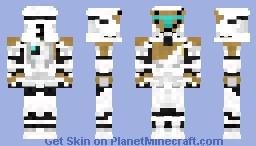 Clone Commando Gregor Minecraft Skin