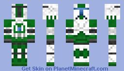 Republic Commando - Green (Fixer) Minecraft Skin