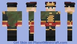 Commissar Gaunt [Warhammer 40k] Minecraft Skin
