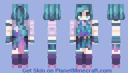 Seraphine - League of Legends // Commission Minecraft Skin