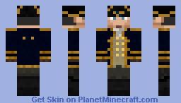 Commodore Minecraft Skin
