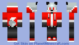 X Phantom_fox785 Minecraft Skin