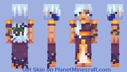 Flower spirit - CE Minecraft Skin