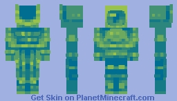 A Cyclopes Without A Brain-Dragonfly Palette Minecraft Skin