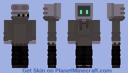 Computer Man Minecraft Skin
