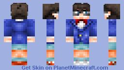 Edogawa Conan from Detective Conan Minecraft Skin