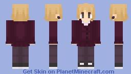 Concept (Also a plug for a book lol) Minecraft Skin