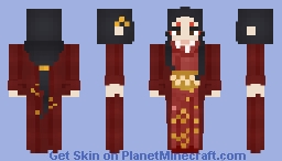 ❁ The Koi Bride (Dunwater Only) ❁ Minecraft Skin