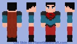 Superman - Conner Kent - Future State Minecraft Skin