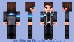 Connor - Detroit Become Human Minecraft Skin