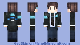Connor (Detroit: Become Human) [Alex Model] Minecraft Skin