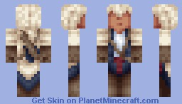 Connor Kenway Minecraft Skin