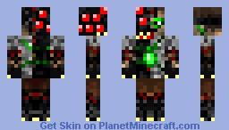 Dr. Volsteig [moving mouth][Villainous Hero] Minecraft Skin
