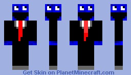 Cookie Monster 4 faces Minecraft Skin
