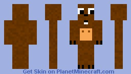 Bear With Moving Mouth [Jacklancelot] Minecraft Skin