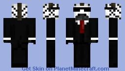 zebra suit Minecraft Skin