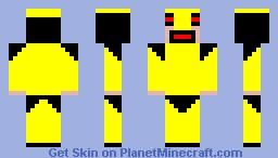 golden armor Minecraft Skin