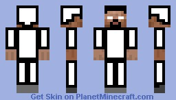 white man Minecraft Skin