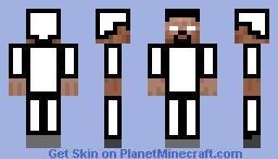 white man Minecraft