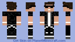 Cool Boy (Skin) With sun glasses Minecraft Skin