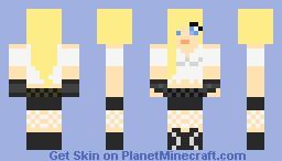 Cute goth girl =) -Feedback please and favirate, subscribe and Diamond! =DDDD Minecraft Skin