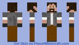 cool man Minecraft Skin