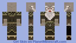 Duergar/Grey Dwarf - Contest Entry Minecraft Skin