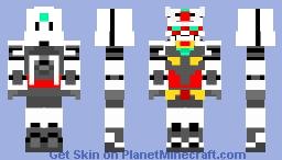 core gundam (my version 2.0) Minecraft Skin